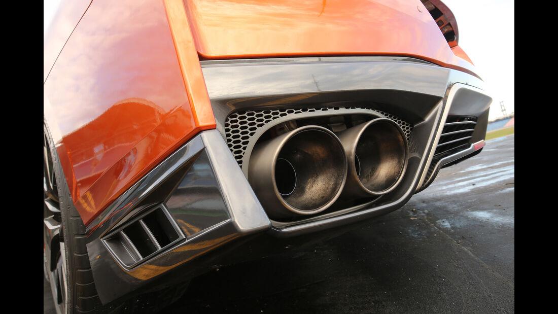 Nissan GT-R, Endrohr