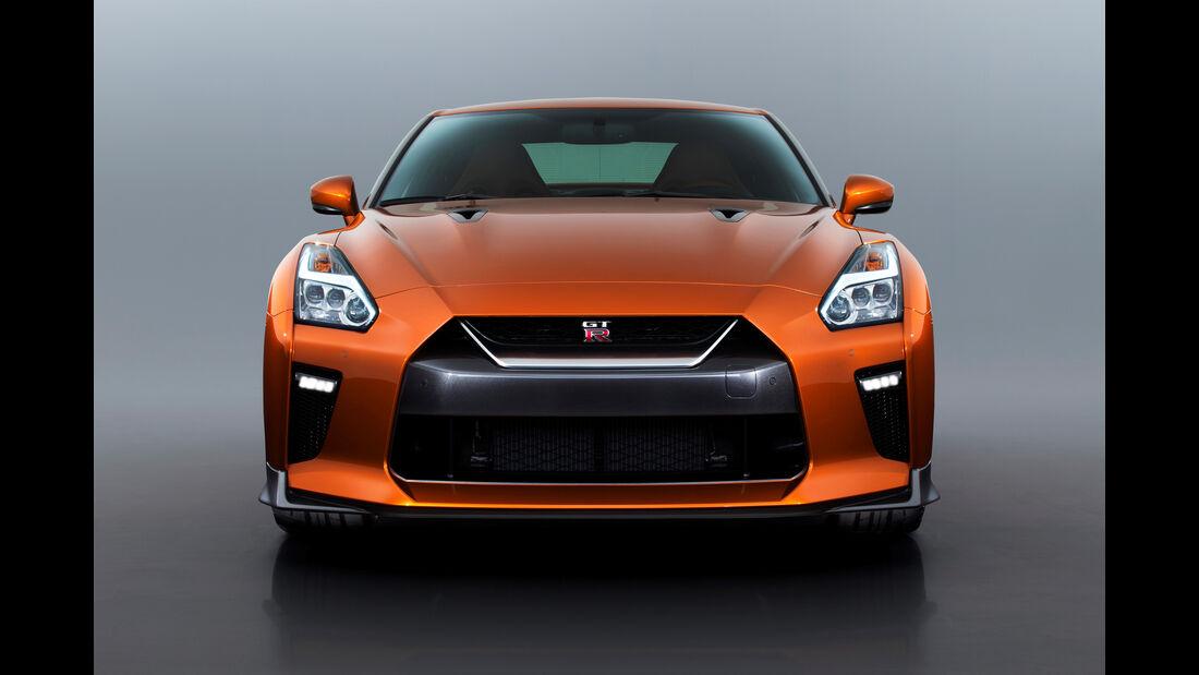 Nissan GT-R Facelift, Modelljahr 2017, New York Auto Show 2016
