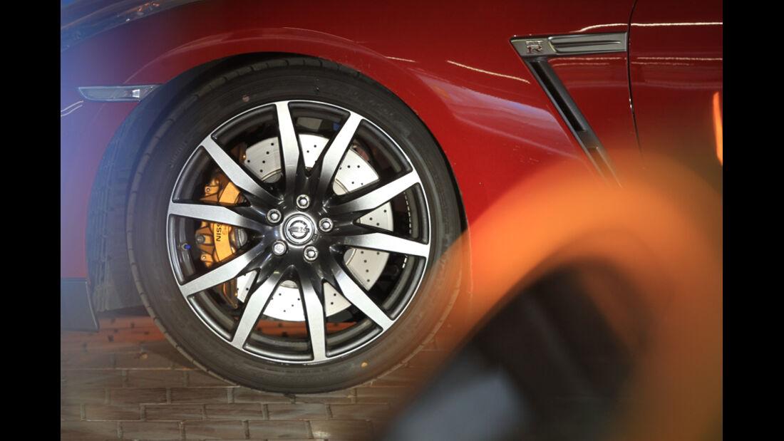 Nissan GT-R, Felge, Rad
