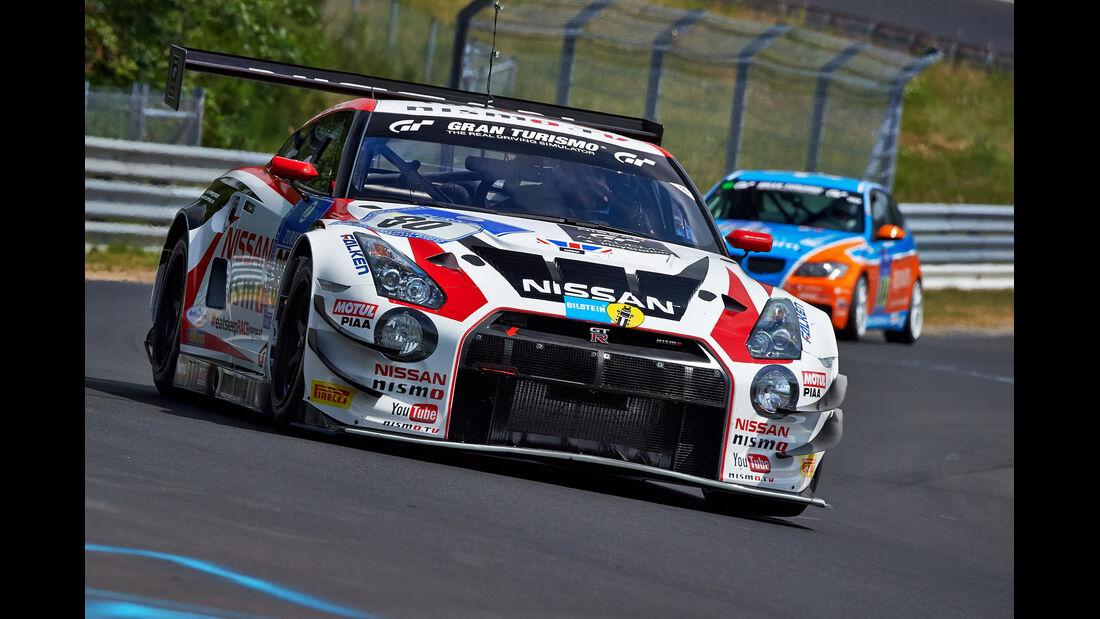 Nissan GT-R GT3 Nismo - Nissan GT Academy Team RJN - Impressionen - 24h-Rennen Nürburgring 2014 - #80 -Qualifikation 1