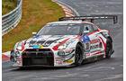 Nissan GT-R GT3 - Nissan GT Academy Team RJN - Startnummer: #30 - Bewerber/Fahrer: Michael Krumm, Tetsuya Tanaka, Kazuki Hoshino, Katsumasa Chiyo, Klasse: SP9 GT3