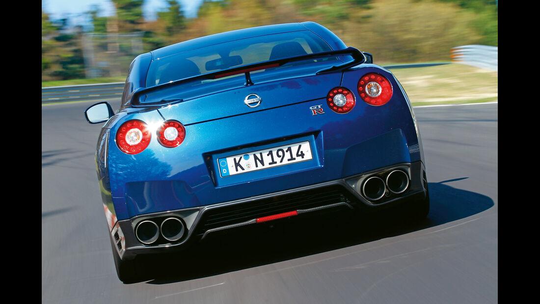 Nissan GT-R, Heckansicht