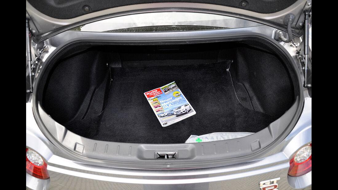 Nissan GT-R, Kofferraum