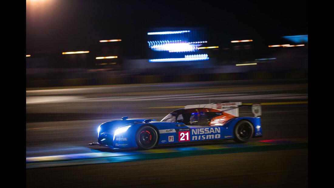 Nissan GT-R LM Nismo - Startnummer #21 - 24h Rennen Le Mans - 1. Qualifying - Mittwoch - 10.6.2015