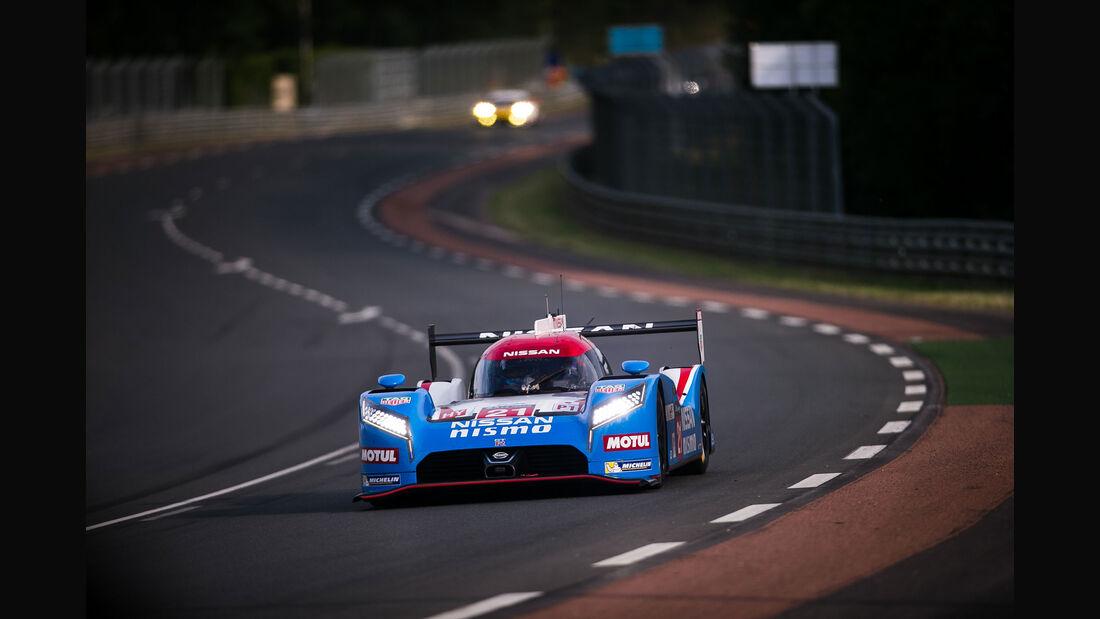 Nissan GT-R LM Nismo - Startnummer #21 - 24h-Rennen Le Mans 2015 - Donnerstag - 12.6.2015