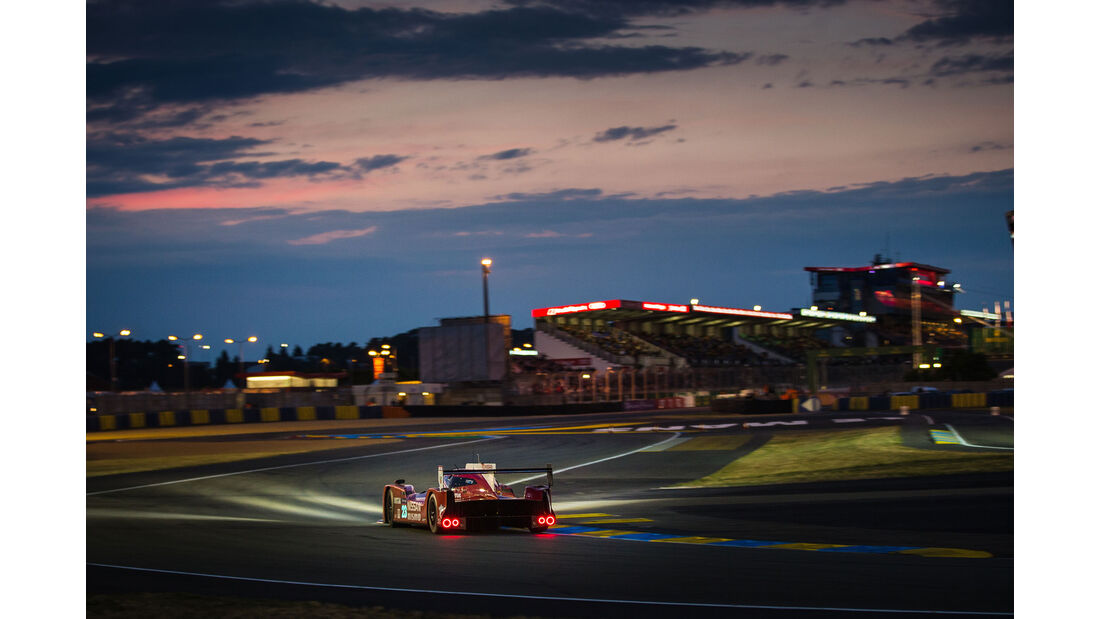 Nissan GT-R LM Nismo - Startnummer #23 - 24h Rennen Le Mans - 1. Qualifying - Mittwoch - 10.6.2015