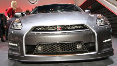 Nissan GT-R MY12, Automobilsalon Genf 2012, Messe, Sportwagen