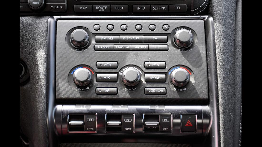 Nissan GT-R, Mittelkonsole