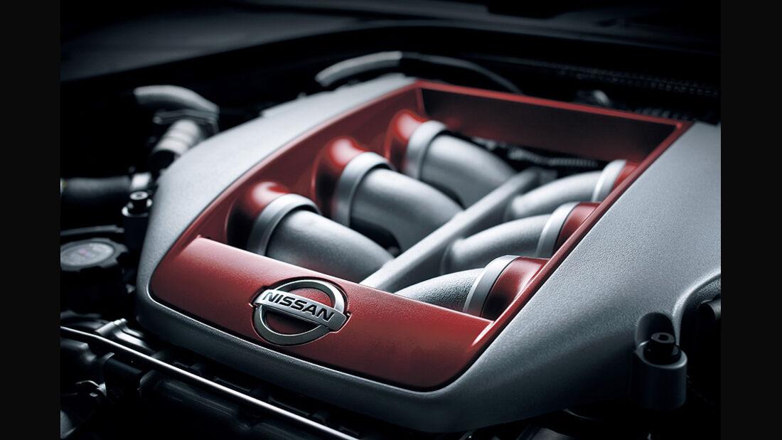 Nissan GT-R Modelljahr 2011, Motor