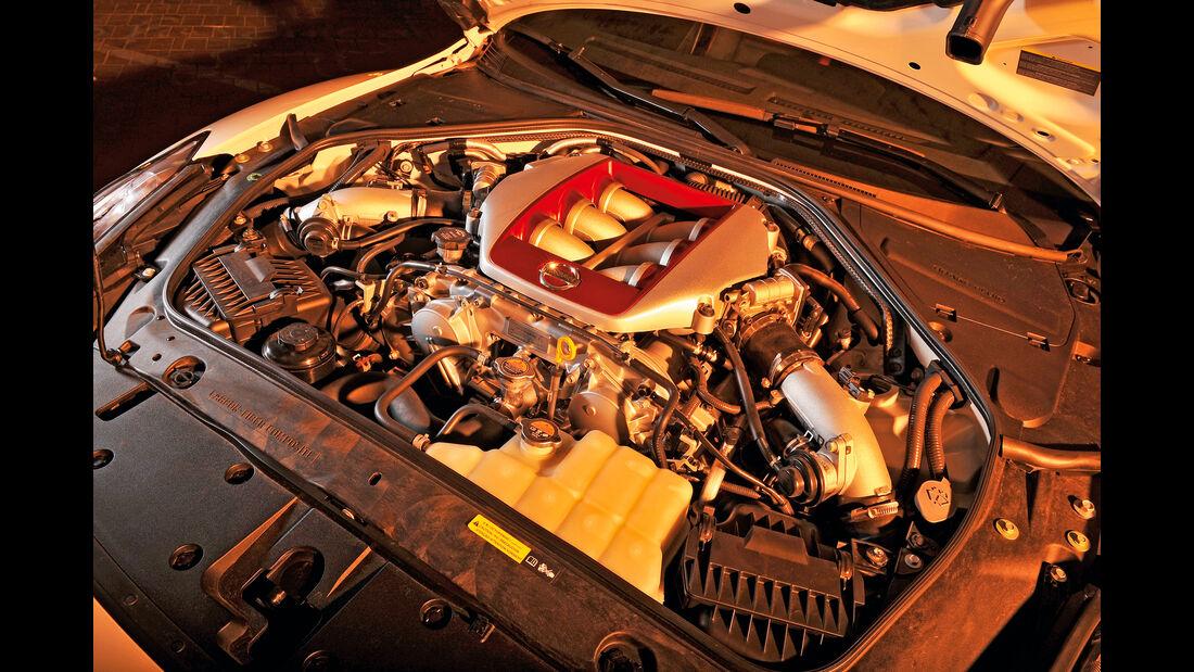 Nissan GT-R, Motor