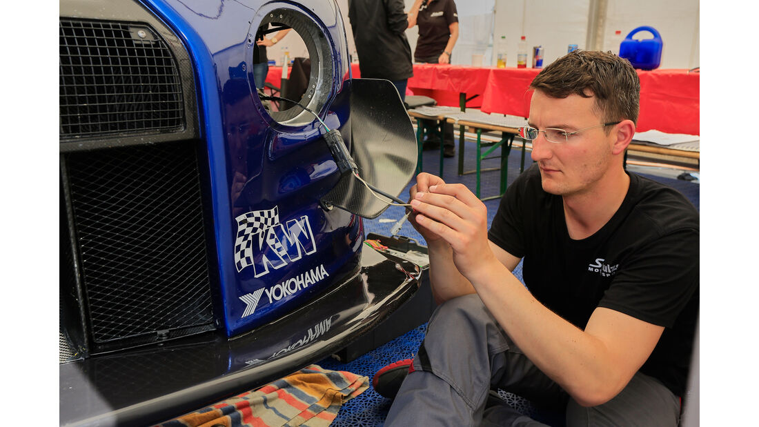 Nissan GT-R Nismo GT3 - Technik - 24h-Rennen Nürburgring 2016 - Nordschleife
