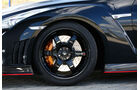 Nissan GT-R Nismo, Rad, Felge