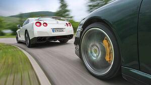 Nissan GT-R, Porsche 911 Turbo