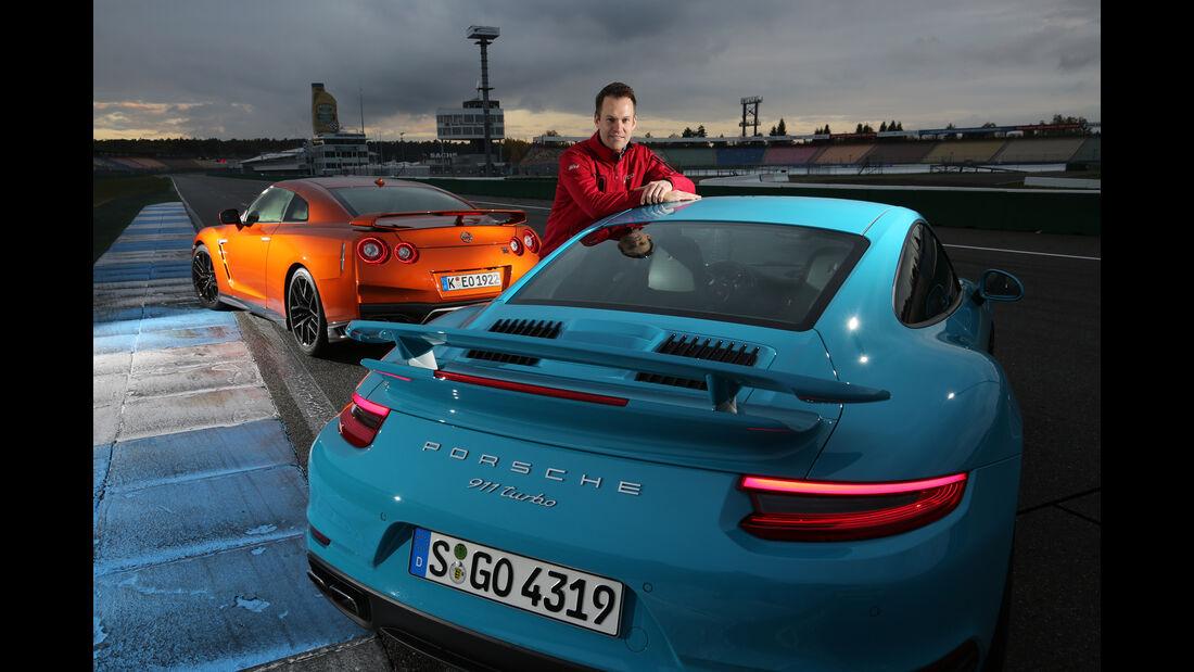 Nissan GT-R, Porsche 911 Turbo, Cristian Gebhardt