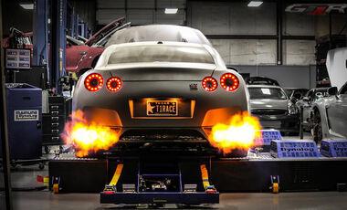 Nissan GT-R, R35, T1 Race Development, Dragster, 2.400 PS, Tony Palos