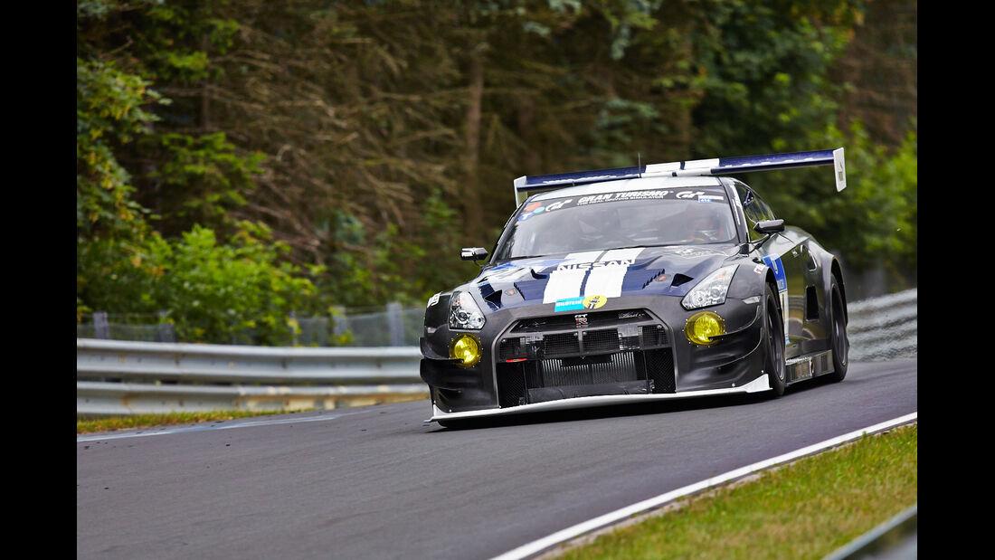 Nissan GT-R - Schulze Motorsport - 24h-Rennen Nürburgring 2014 - Top-30-Qualifying