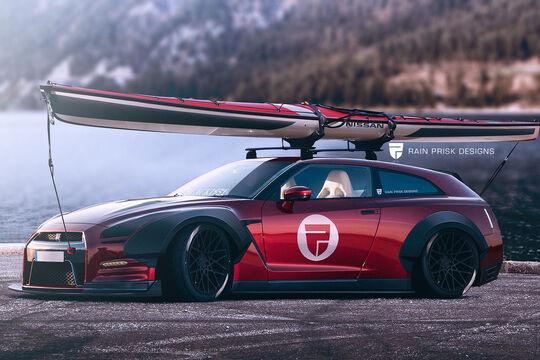 Nissan GT-R Shooting Brake - Fantasie-Auto