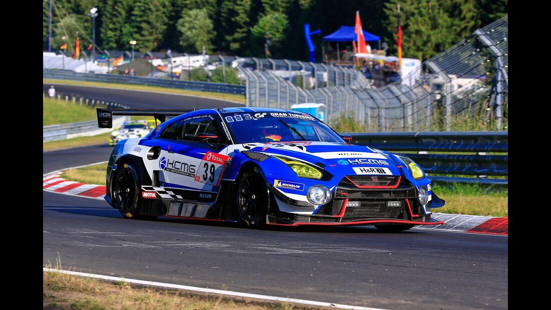 Nissan GT-R - Startnummer #39 - 24h Rennen Nürburgring - 21. Juni 2019