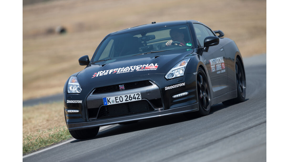 Nissan GT-R Track Edition, Frontansicht