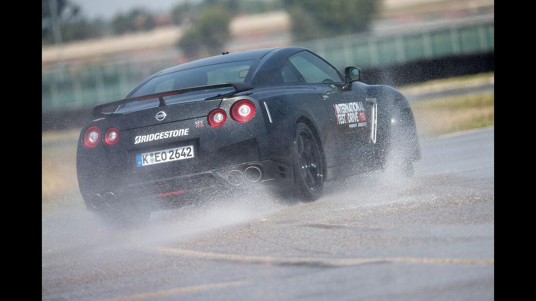 Nissan GT-R Track Edition, Heckansicht