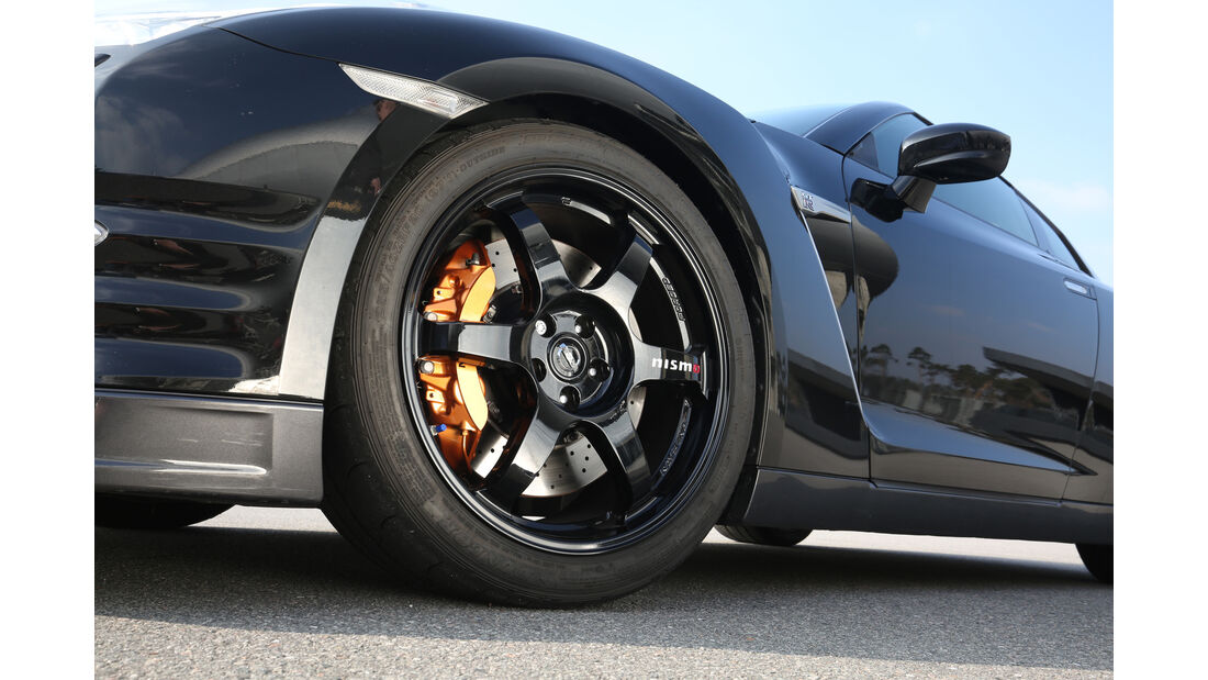 Nissan GT-R Track Edition, Rad, Felge