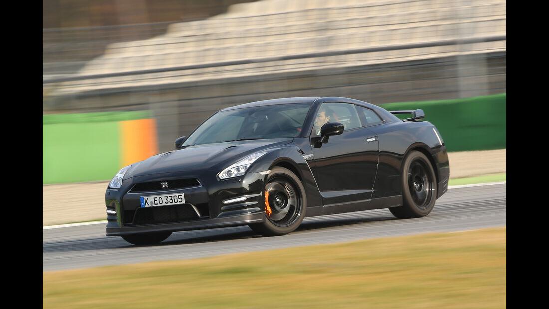 Nissan GT-R Track Edition, Seitenansicht