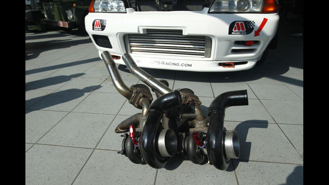 Nissan GT-R, Turbolader