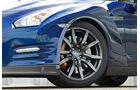 Nissan GT-R, Vorderreifen, Rad, Detail