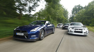 Nissan GT-R, verschiedene Modelle, Front