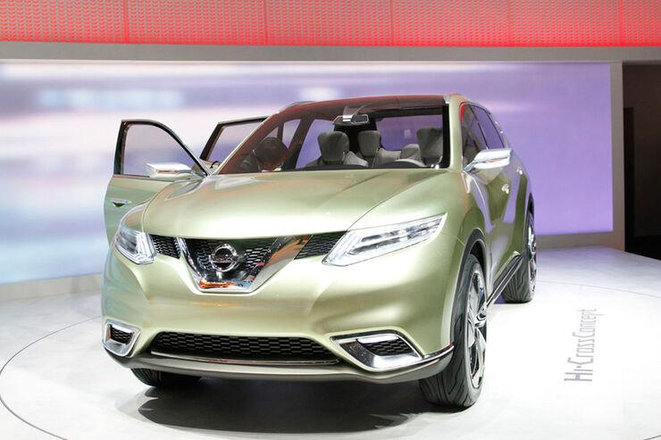 Nissan Hi-Cross Concept Car, Autosalon Genf 2012, Messe