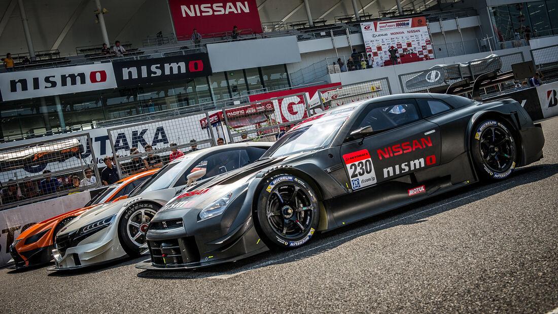 Nissan, Honda & Lexus GT 500 2014