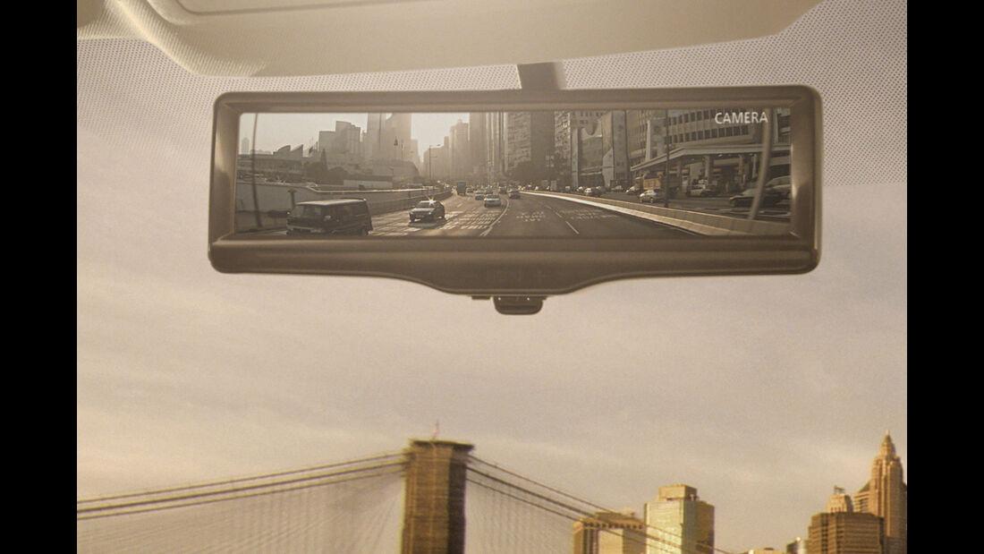 Nissan Intelligent Mirror