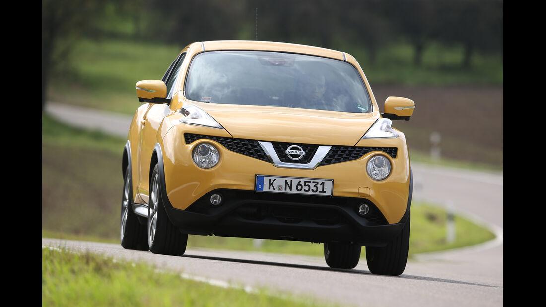 Nissan Juke 1.2 DIG-T, Frontansicht