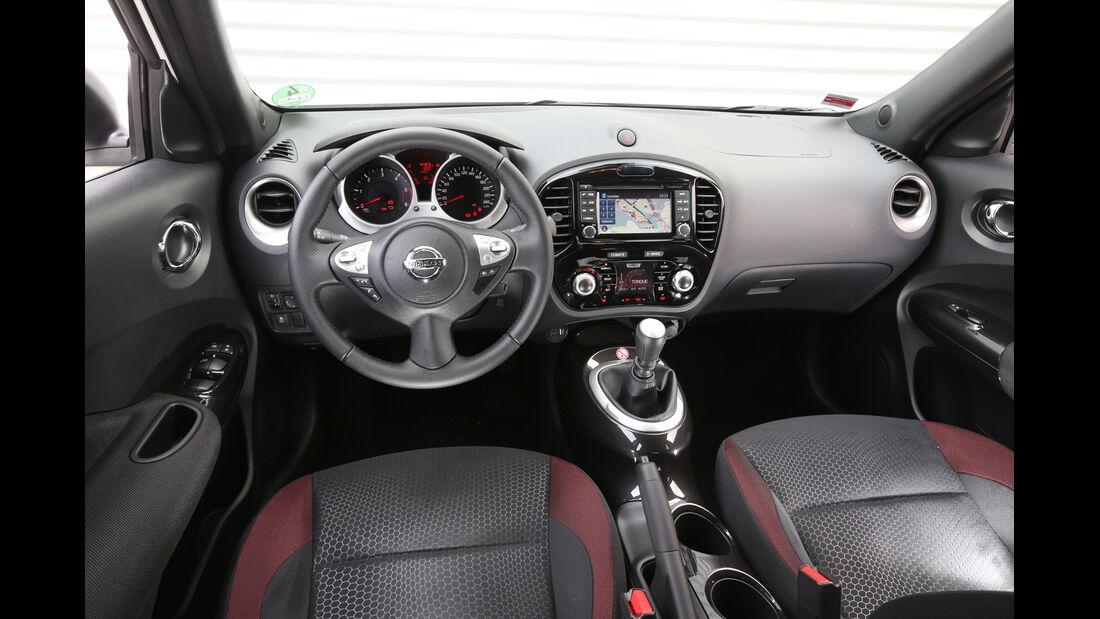 Nissan Juke 1.5 dCi, Cockpit