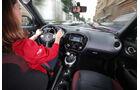Nissan Juke 1.5 dCi, Cockpit, Fahrersicht