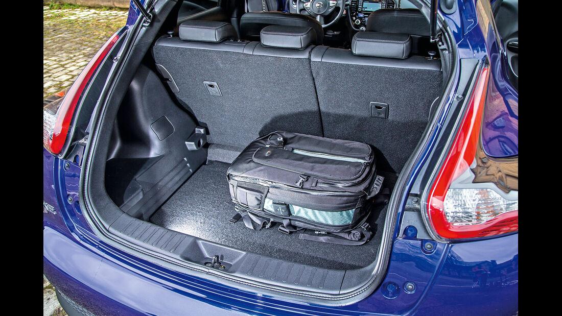 Nissan Juke, Kofferraum