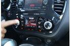 Nissan Juke, Mittelkonsole, Bedienelemente
