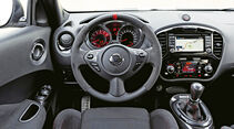 Nissan Juke Nismo, Cockpit, Lenkrad