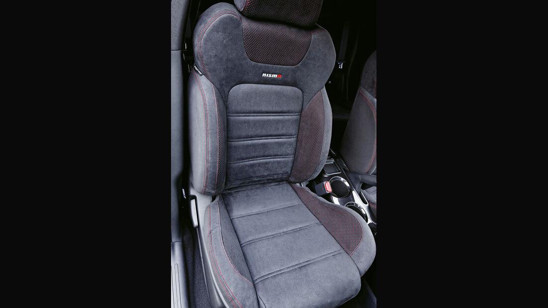 Nissan Juke Nismo, Fahrersitz