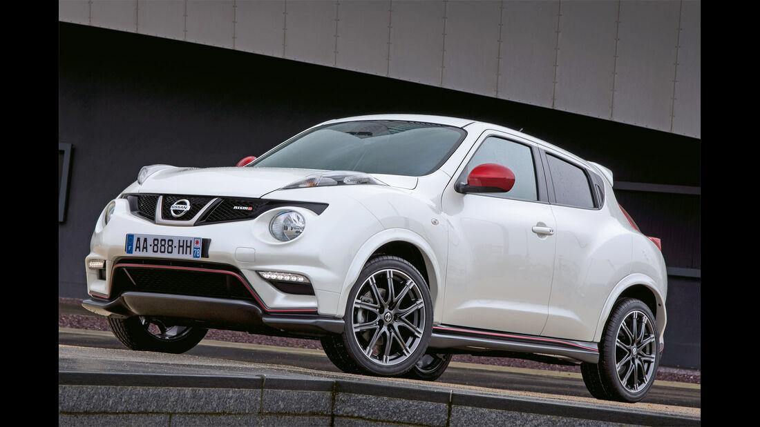 Nissan Juke Nismo, Frontansicht