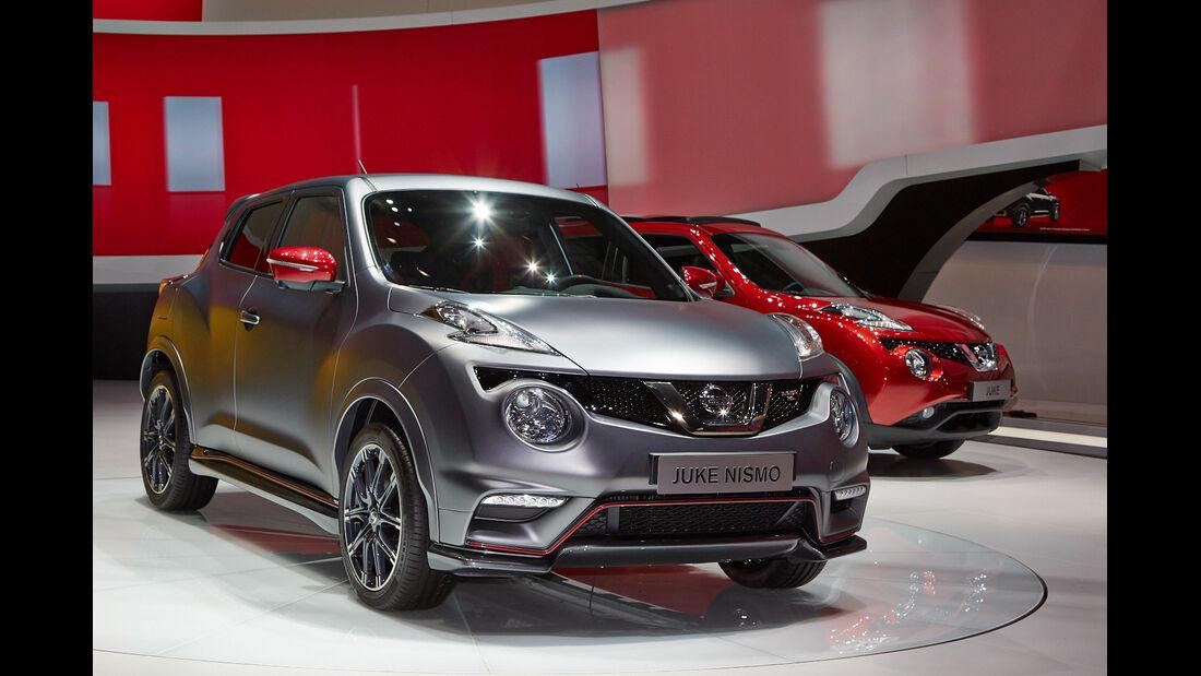 Nissan Juke Nismo, Genfer Autosalon, Messe 2014