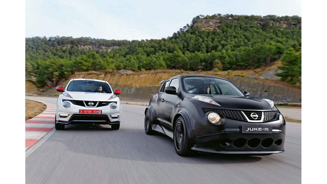 Nissan Juke-R, Nissan Juke Nismo, Frontansicht