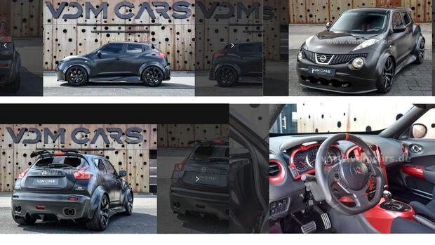 Nissan Juke-R700 SVM Verkauf Anzeige