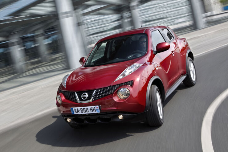 nissan juke im fahrbericht suv mal anders aber. Black Bedroom Furniture Sets. Home Design Ideas