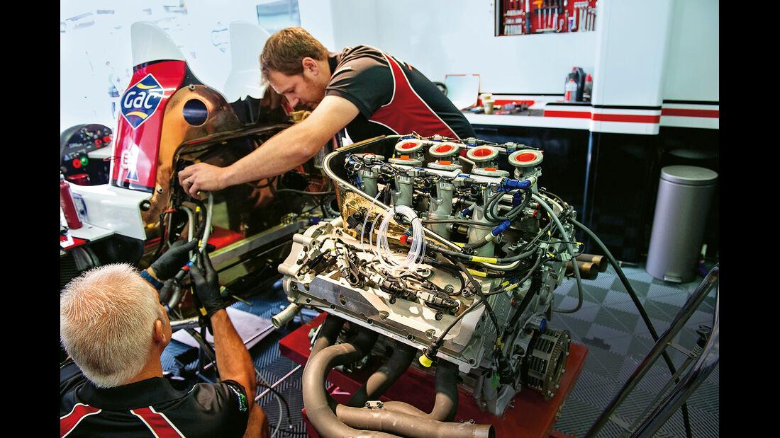 Nissan, LMP2-Klasse, Motor