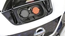 Nissan Leaf, Anschluesse