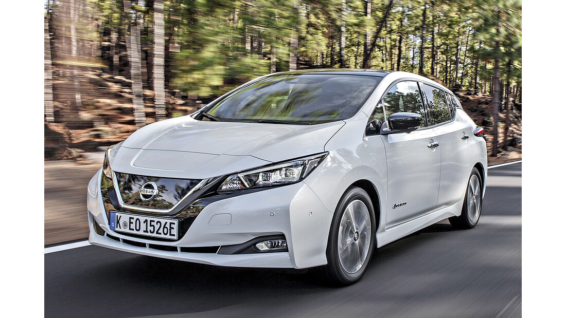 Nissan Leaf, Best Cars 2020, Kategorie C Kompaktklasse