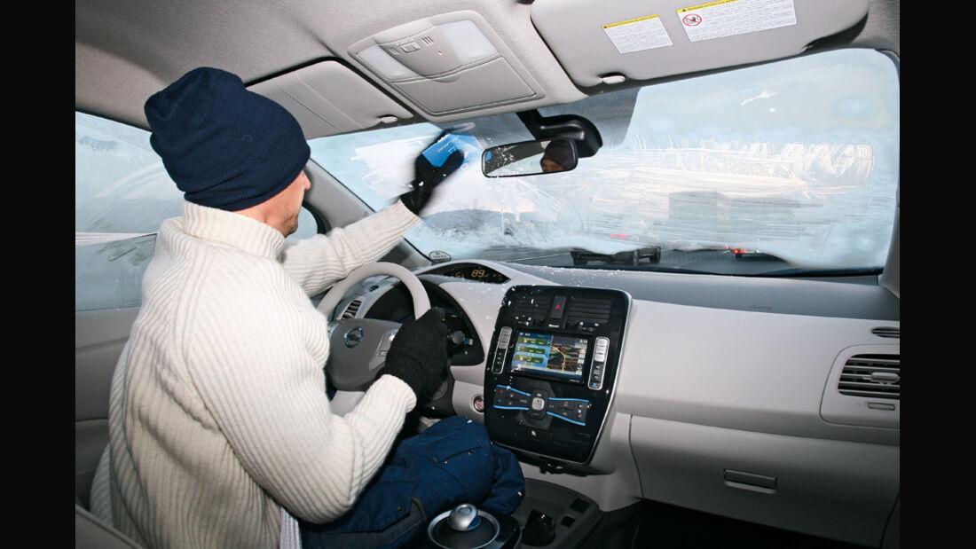 Nissan Leaf, Cockpit