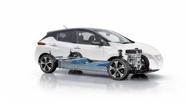 Nissan Leaf, Detailansicht