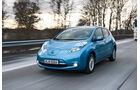 Nissan Leaf, Frontansicht